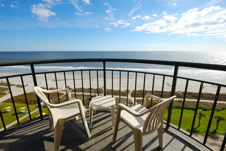 Prefect sized Oceanfront King Suite@ Meridian 1203 - Myrtle Beach