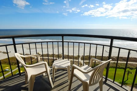 Prefect sized Oceanfront King Suite@ Meridian 1203 - Myrtle Beach - Hotel butik