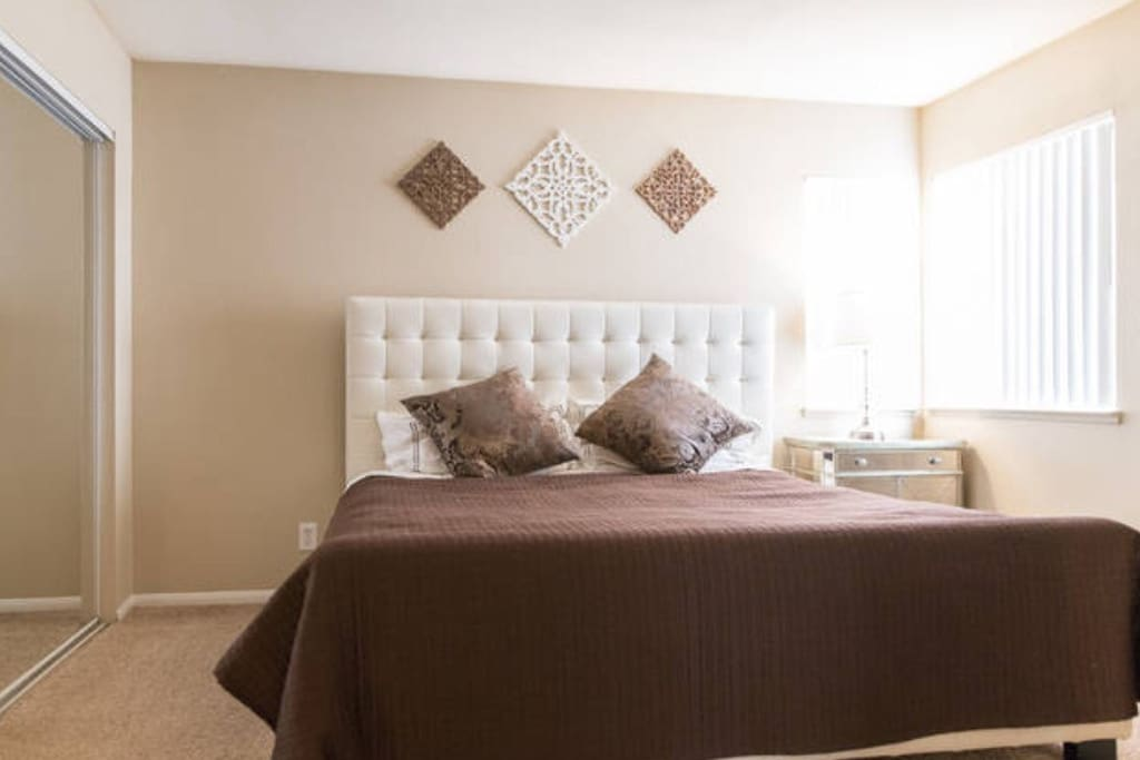 Master Bedroom with Eastern King Bed