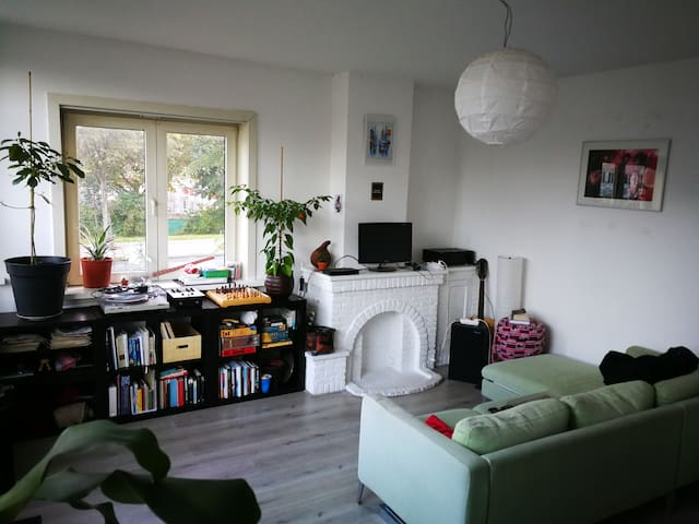 Cosy room in bright and spacious apartment!