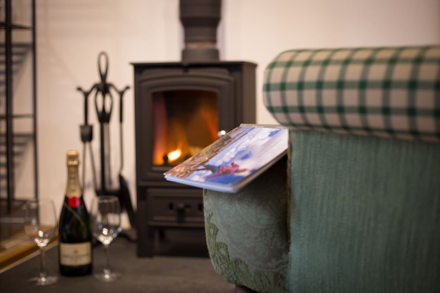 """""""Relax after a day exploring by the cosy Wood burner"""""""