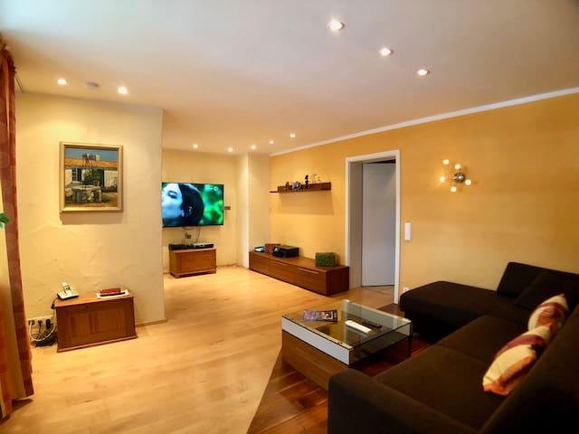 Erdgeschosswohnung mit Flair
