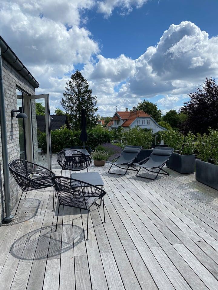 Stor lækker villa 200 kvm. i rolige omgivelser