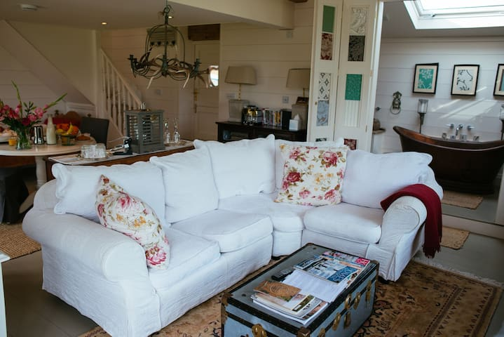 The Garden Room 5* Boutique Barn  - Wrenbury - Apartamento