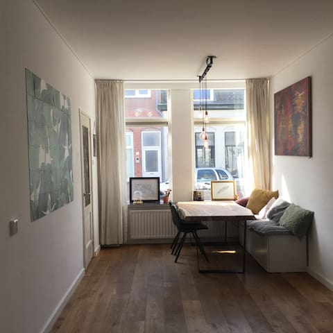 Cozy 2 BR home close to city center - Haarlem - Hus