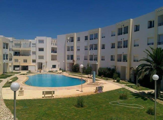 Charmant 2 pièces 100 m plages - Dar Chaabane Al Fehri - Wohnung