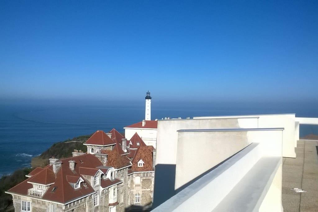 Le phare de Biarritz .... A visiter !