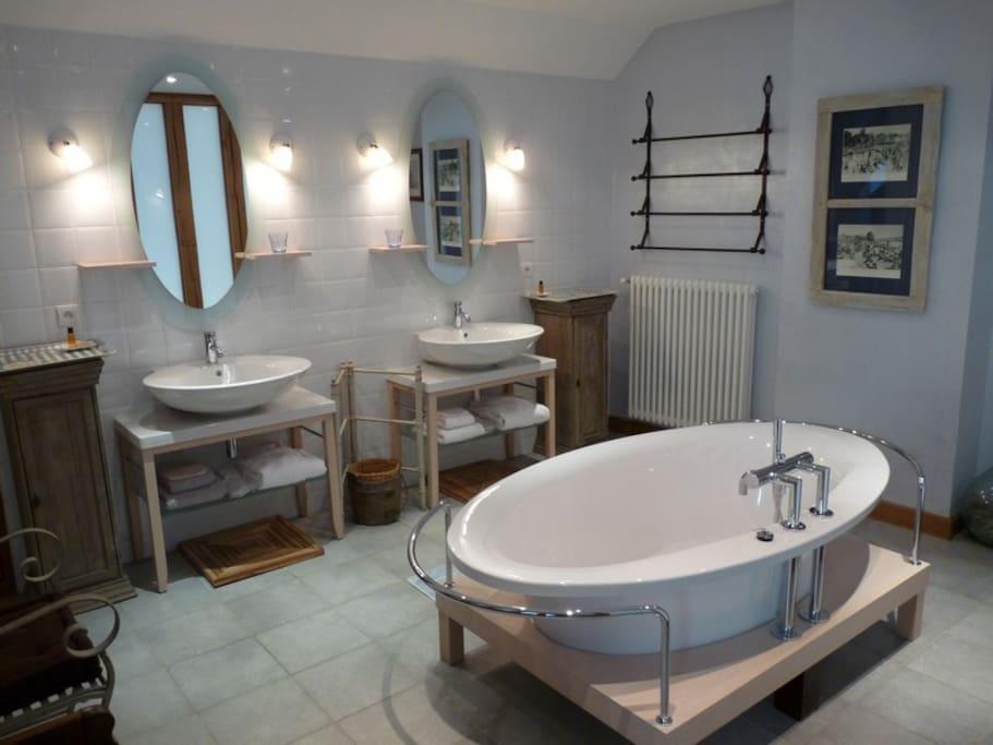 Salle de bain chambre Diane