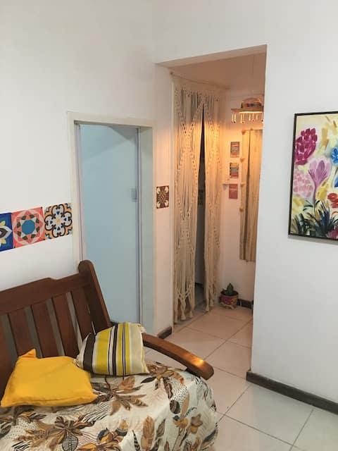 Apartamento completo no Porto da Barra