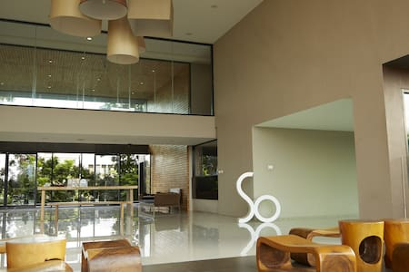 So Boutique serviced apartment (ABAC BANGNA) - bang bo district - Appartement