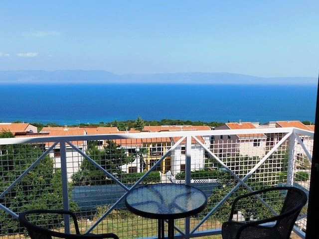 Brnistra - beautiful view of the sea