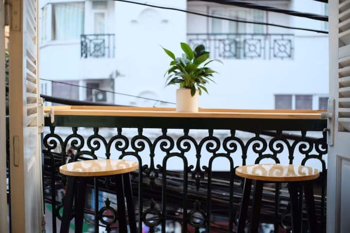 Rattan🌲-Amazing balcony-Hanoicenter-Vie De Maison