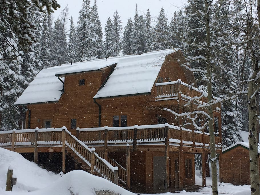Beautiful Cabin Secluded And Close To Breck Cabins For