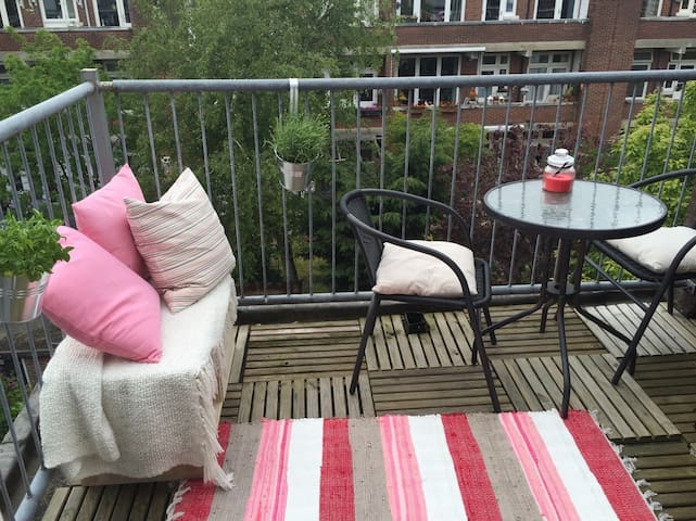 Beach, City, 1 Bike, Balcony, Musea - Den Haag - Apartment