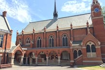 Highgate school chapel has been sensitivity and meticulously renovated and sits moments from the house