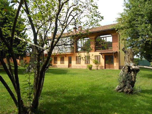 Casa tra le vigne con piscina - Canale - บ้าน