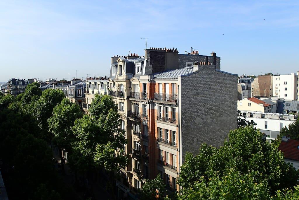 vues sur les toits
