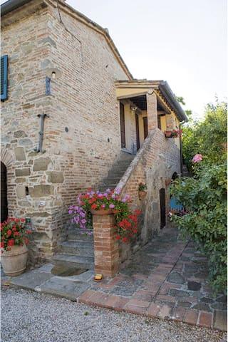 Casina nella Toscana autentica - Cortona (AR) - Apartamento