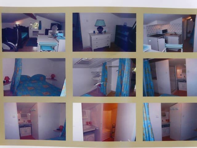 Chambre studio chez l'habitant 30m2 - Parentis-en-Born - Daire