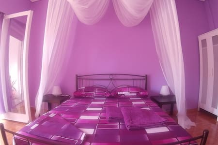 Violet room at Isabella - Athen - Hus