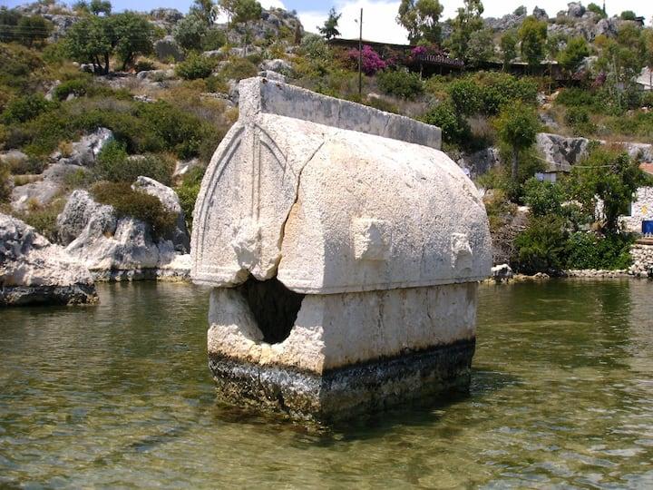 Likya Lahit- Lycian Tomb
