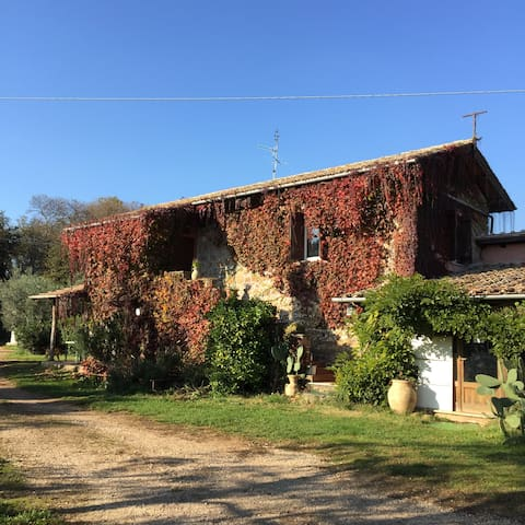 Historisches Landhaus auf Pferdhof bei Valmontone
