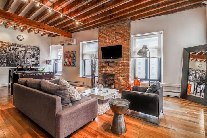Designer Hotel-Loft in Old MTL