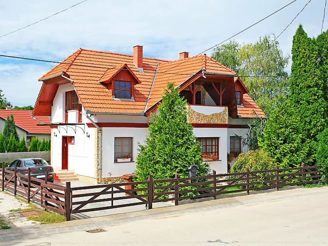 Pleasantly decorated holiday home in the small village of Balatonöszöd