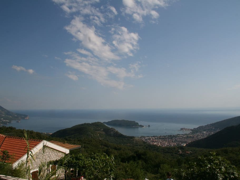 House, sea view