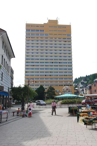 Opal Hotel, Doppelzimmer - Idar-Oberstein - Pis
