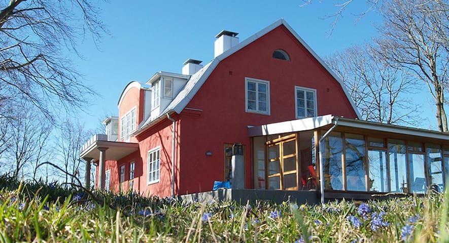 Dubbelrum med utsikt på vacker gård - Skåne Tranås - Dom