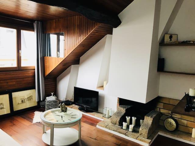 Appartement cosy avec vue sur Notre-Dame de Paris