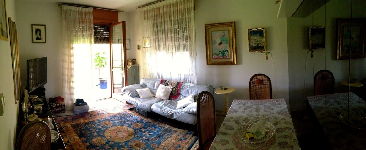 Double Room with Garda view - 2 mins from beach