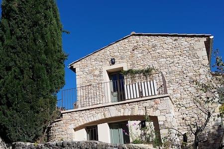 Maison Valabrègue, calme, confort et beauté - La Roque-sur-Cèze - Apartament