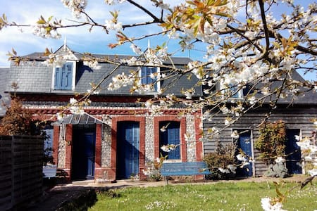 B&B ' Chez Alberto et Silvia'...Chambre Linda... - Saint-Pierre-en-Port - 家庭式旅館