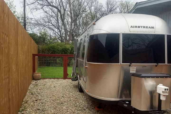 Cozy Modern Airstream in ATX