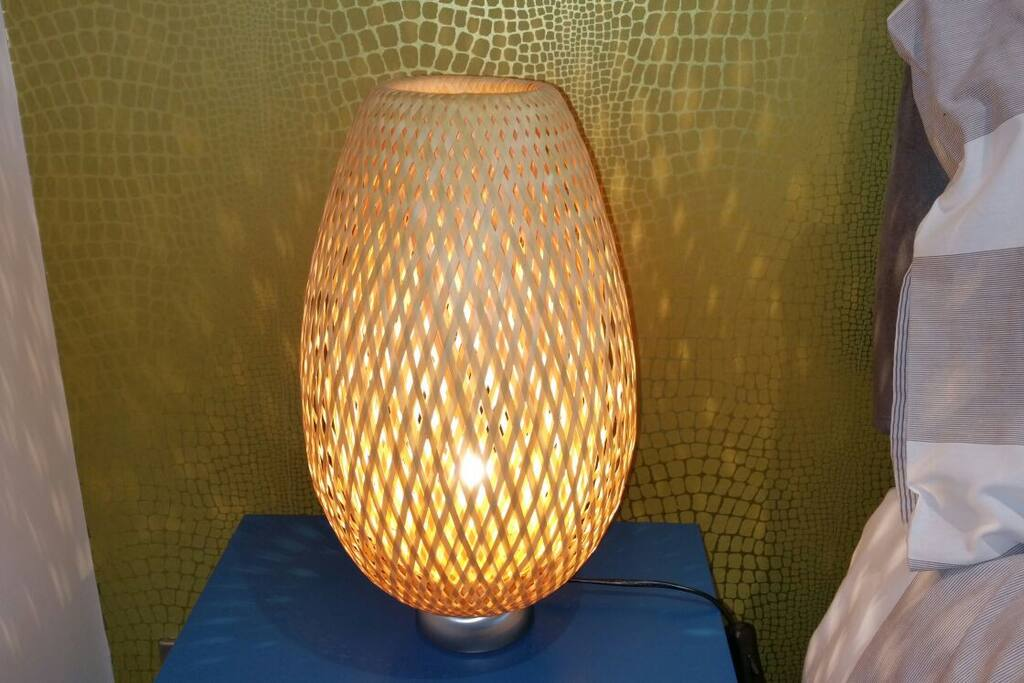 Close up of fabulous lampshade
