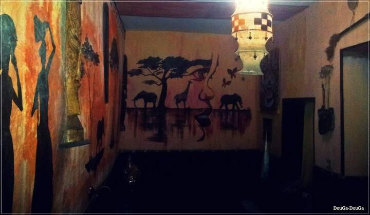 DougaDouGa African Room & Lounge