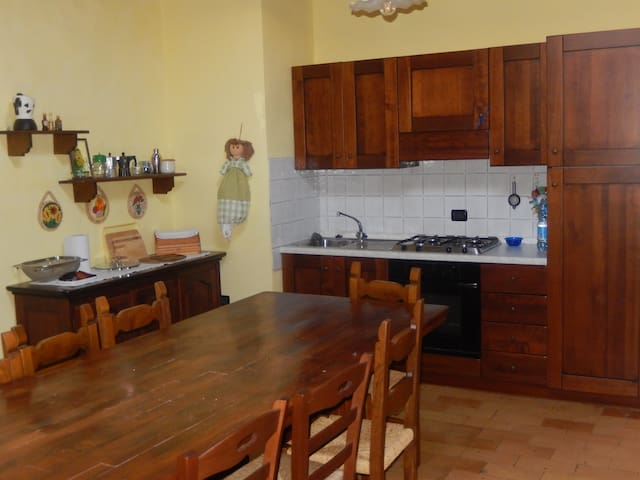 Alloggio rurale al 2° piano-2nd floor country flat