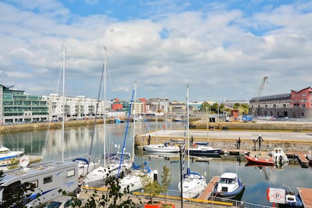Galway City Centre Harbour Views