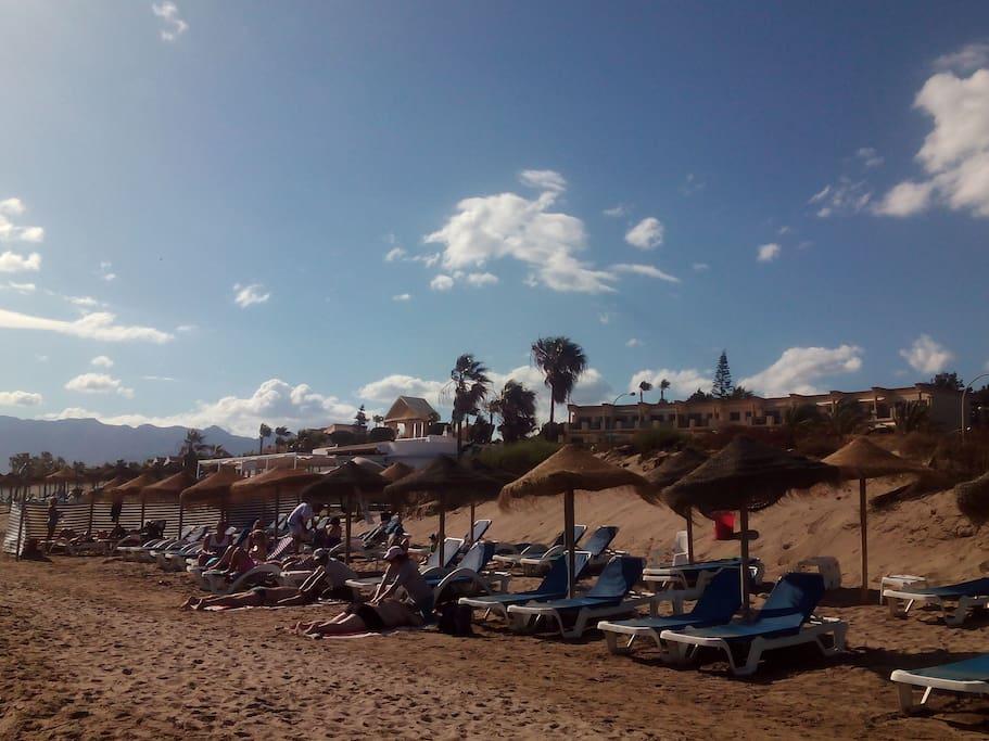 A un paso de las mejores playas de Malaga
