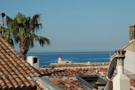 T2 Port de Sanary - Grande terrasse - Sanary-sur-Mer - 公寓