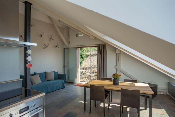 Wohnen mit Blick auf den Murtensee - Bellerive - Lägenhet