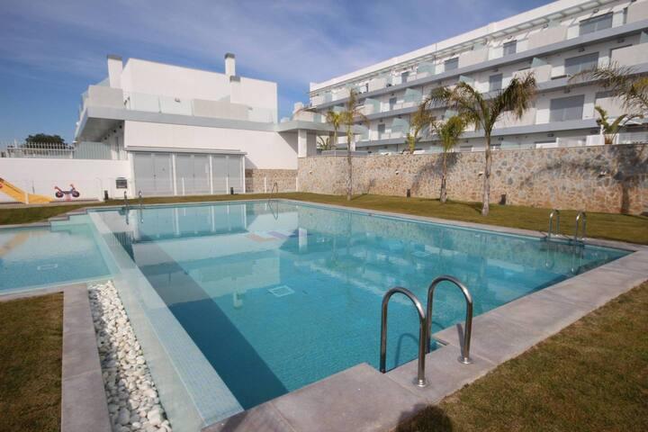 Appartement avec piscine à Villamartin