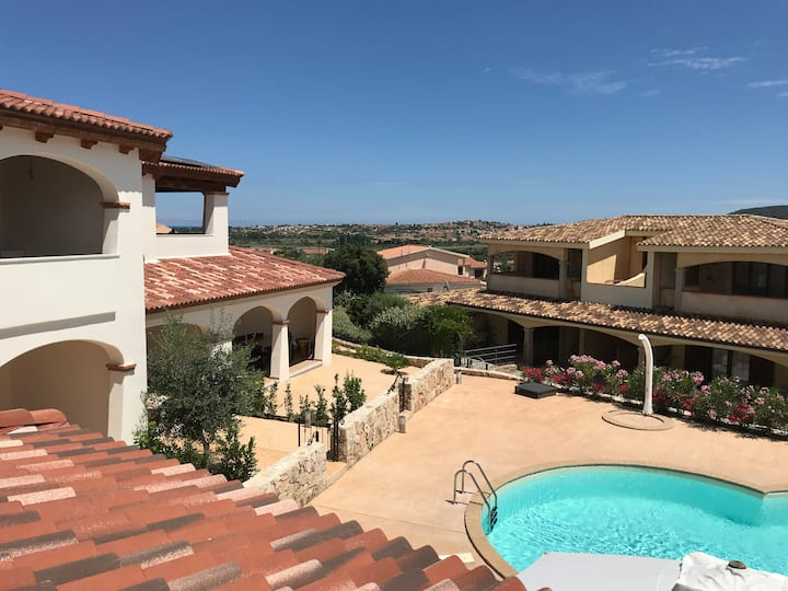 BRAND NEW PANORAMIC AND QUITE APARTMENT WITH POOL