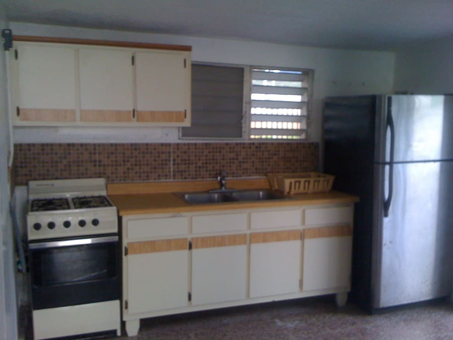 Complete Kitchen with Microwave and Coffee Maker
