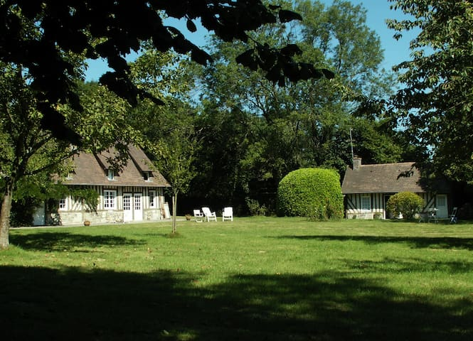 Charmante maison, parc de 1 hectare & tennis privé
