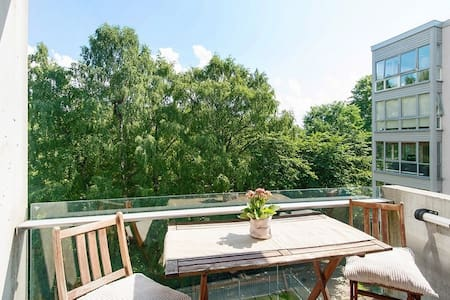 Modern apartment in central Oslo. Amazing location - 奥斯陆 - 公寓