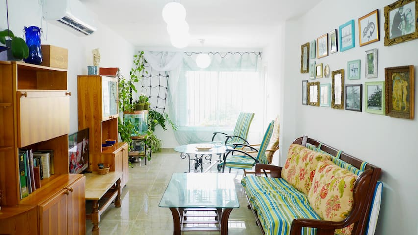 Cozy nautical-sea design, 5 minutes from the beach - Tel Aviv-Yafo - Apartment