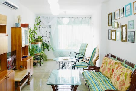 Cozy nautical-sea design, 5 minutes from the beach - Tel Aviv-Yafo - Apartamento